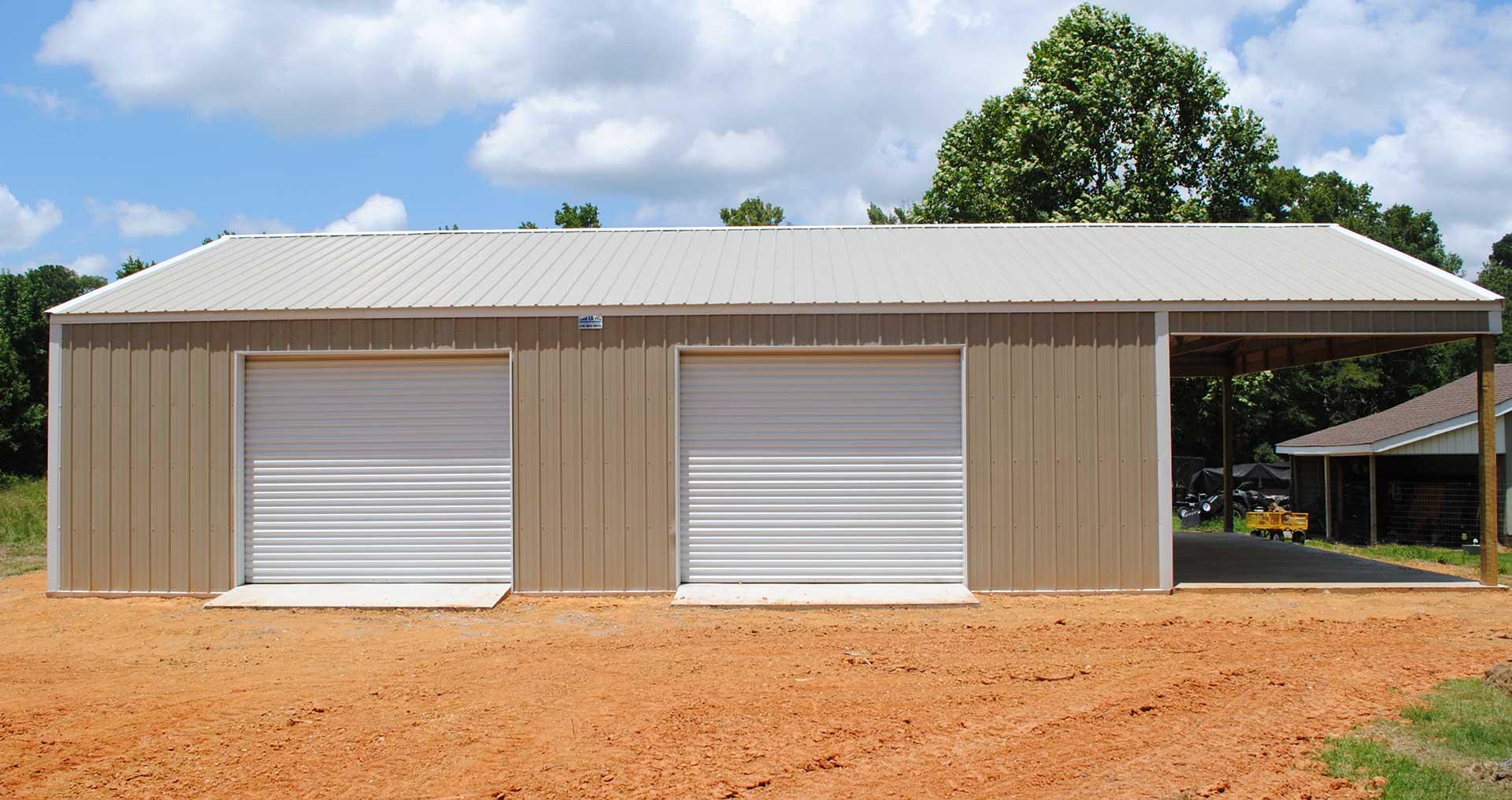 Ark La Tex Shop Builders Haughton La Pole Barns Metal