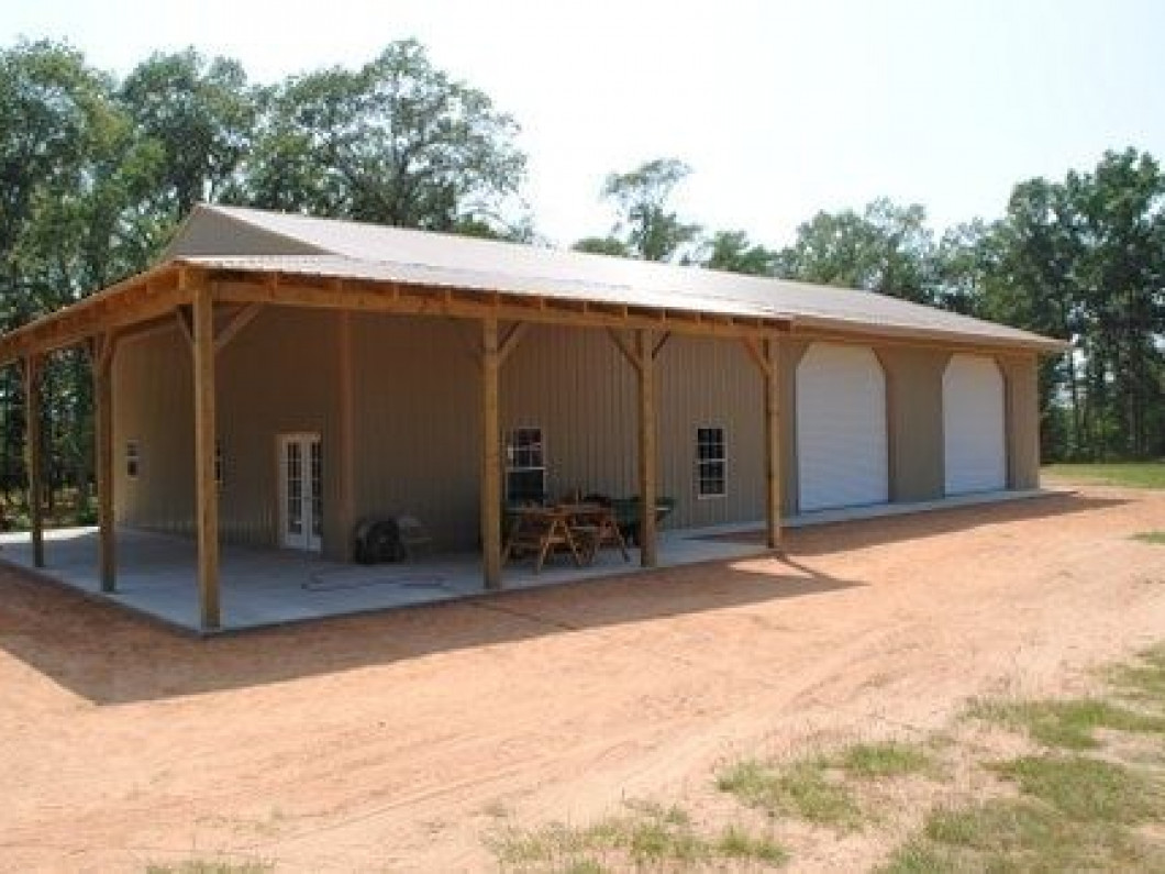 Modern Post-Frame Construction in Haughton, LA | Ark-La-Tex Shop ...